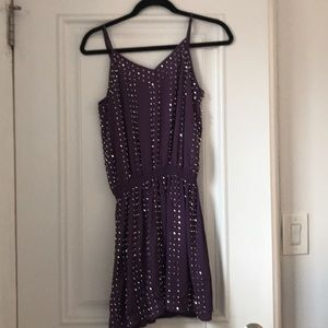 Dresses & Skirts - Purple Bead Dress